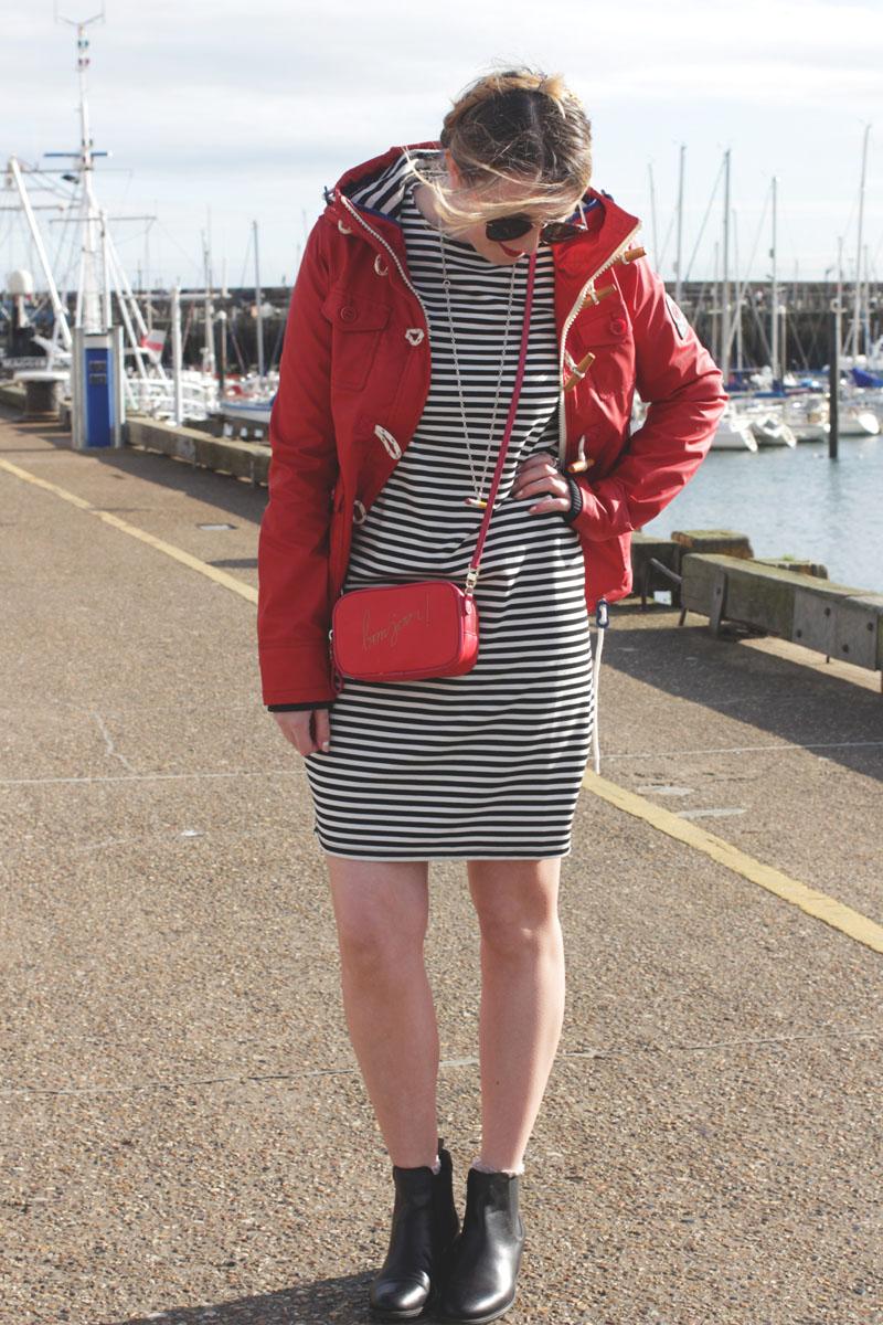 How to wear stripes, Bumpkin Betty