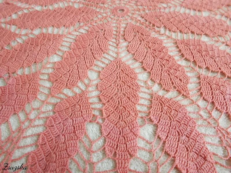 terítő, tablecloth, crochet (4)