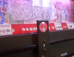 Mønt-tidslinje på Lunds historiske museum