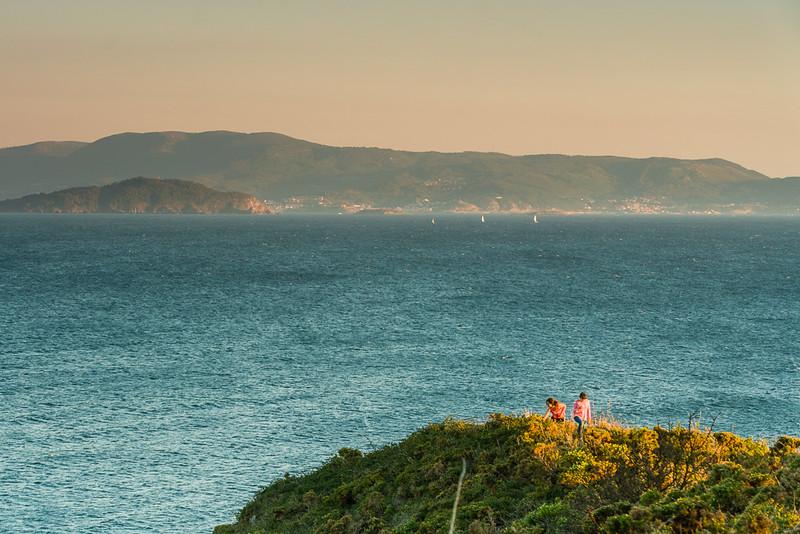 Costa da Vela y Ría de Vigo
