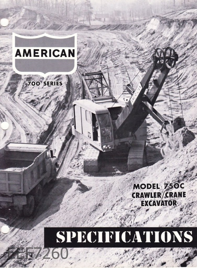 American 999C-HL + 575 and a 750c excavator - General ...