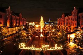 クリスマスマーケット イルミネーション