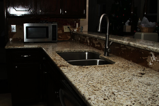 Granite countertops step 2