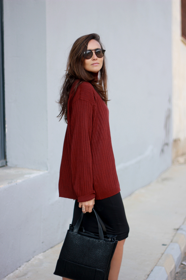 burgundy jersey oversize coohuco 11
