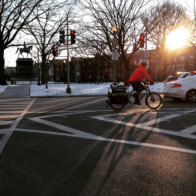 10 degrees? No problem, #bikedc rolls on. (But not me - too icy.)