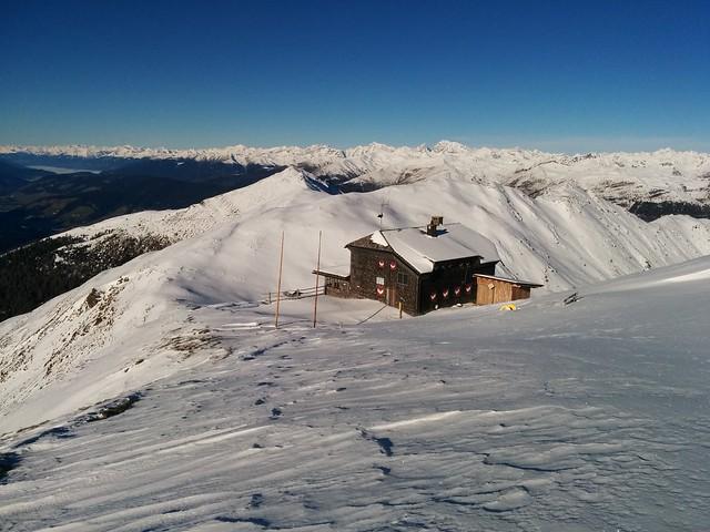 Abfahrt zur Sillianer Hütte