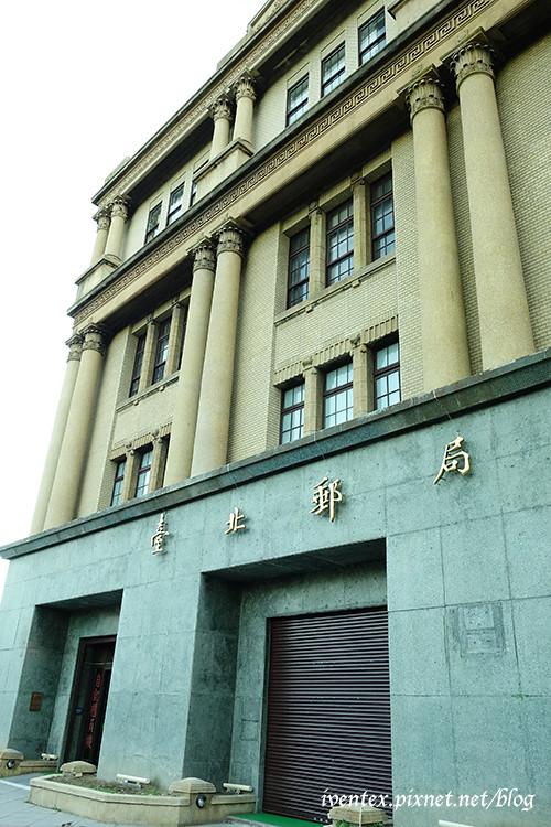 55口力捷運北門站台北郵局