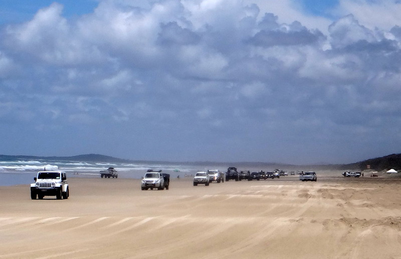 Peak Hour on the Beach