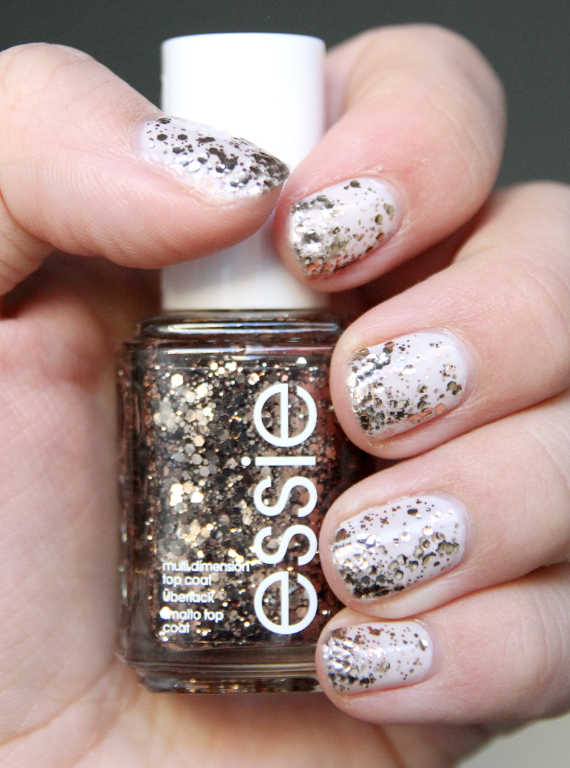Essie tuck it in my tux + Summit of style