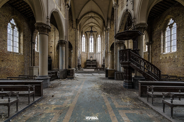Abandoned church B-1