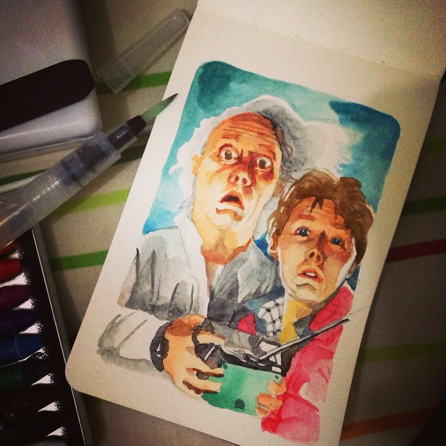 Doc & Marty. #WelcomeBackMarty #BTTF