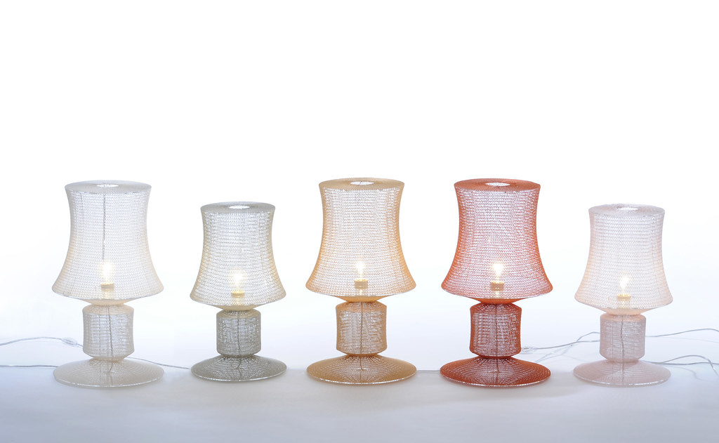 Meike Harde, Knitted Lamps
