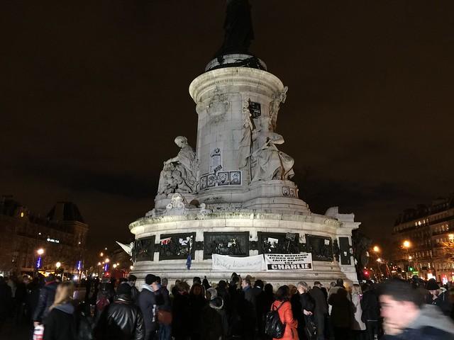 Marche républicaine #CharlieHebdo