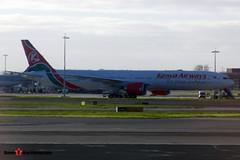 5Y-KZY - 41819 1197 - Kenya Airways - Boeing 777-36NER - Heathrow - 141220 - Steven Gray - CIMG5322