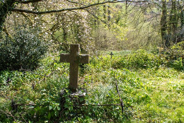 Crosses, Netherbury Churchyard