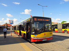 Solaris Urbino 18III, #8581, MZA Warszawa