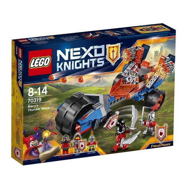 LEGO Nexo Knights 70319 - Macys Donnerbike