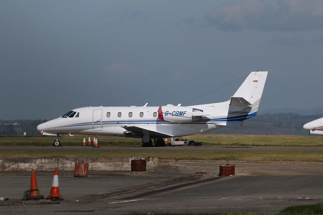 G-CGMF parked.