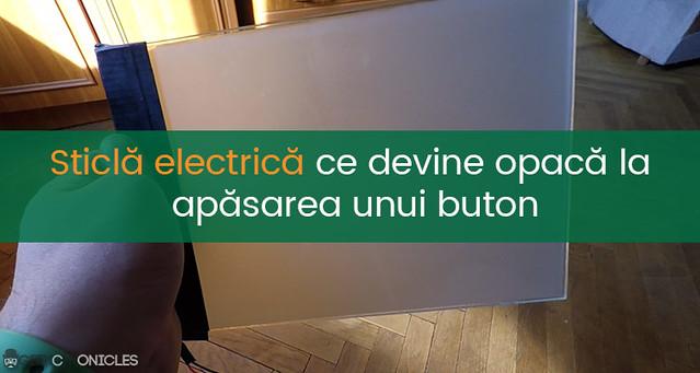 sticla electrica