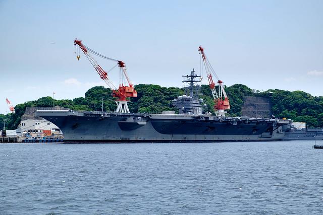 USS CVN-76 Ronald Reagan @ YOKOSUKA