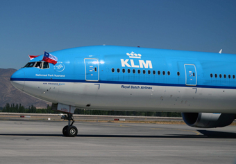 KLM inaugural Chile (Air France-KLM)