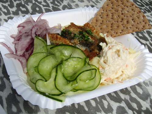 Small Herring Plate