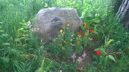 Downed pilot memorial plaque