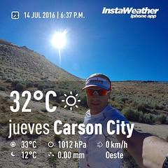 5k #run livianos para combatir el #jetlag #calorseco #dryheat🔥