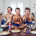 Food fight between brothers by Diana Colleran Photography1