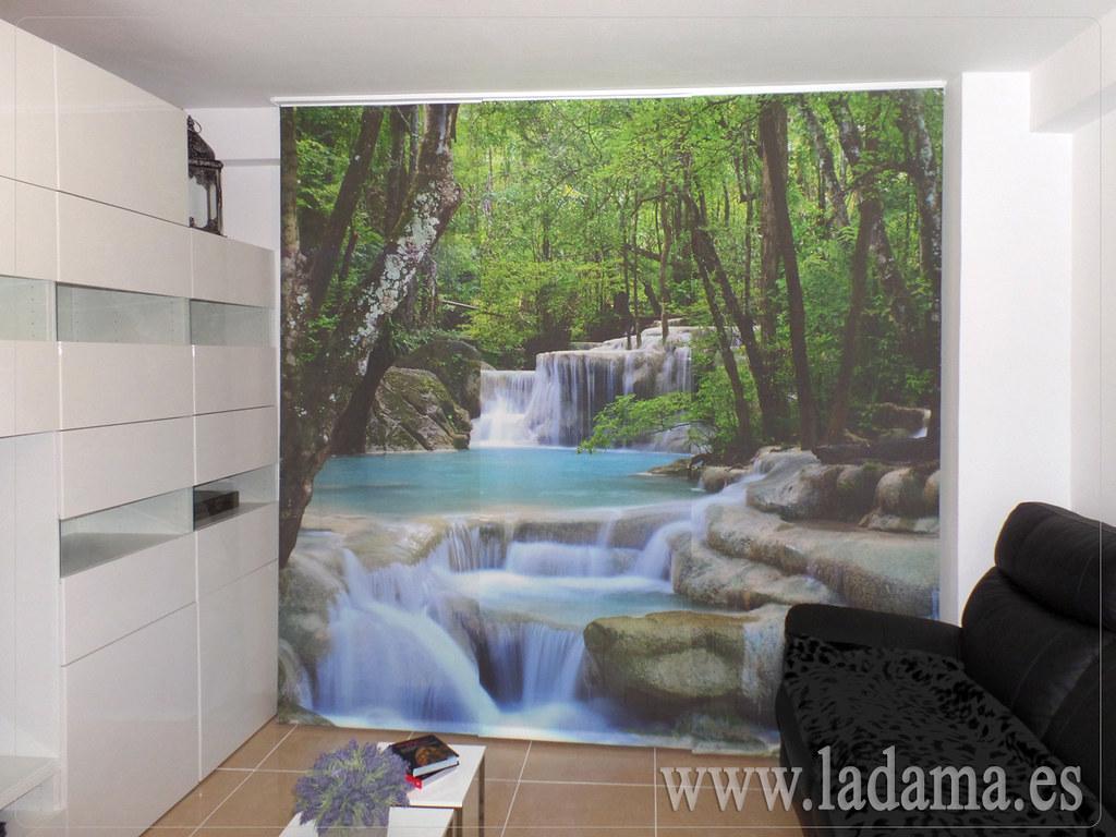 Fotos de cortinas instaladas en ambientes - Estores con fotos ...