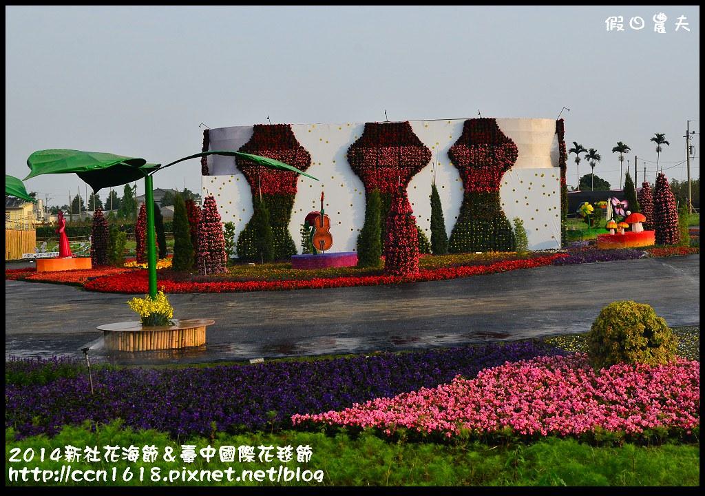 2014新社花海節&臺中國際花毯節DSC_4876