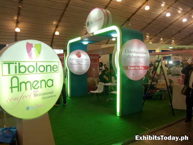 BioFemme Exhibit Stand