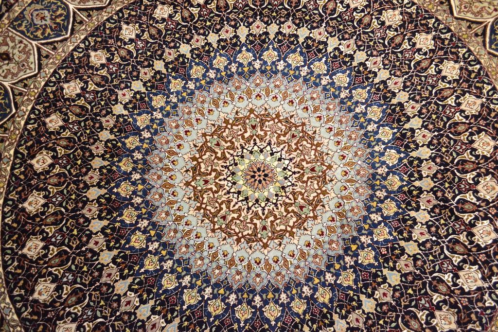 Royal gonabd Tabriz Persian Rug 8x8 (8)