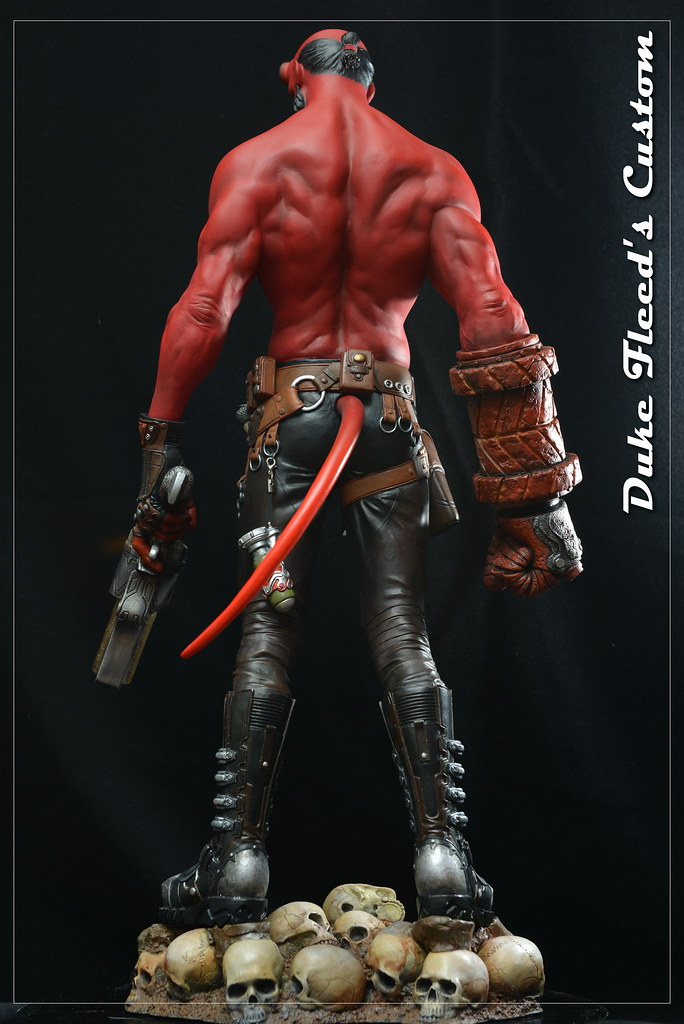 Hellboy 1/4 by Narin  15193243794_d57fae9253_b