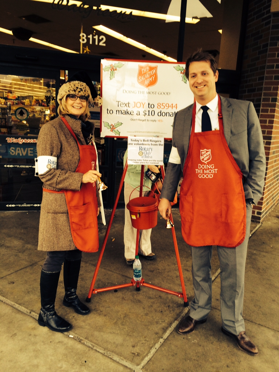 12-19-13 Salvation Army Bellringers