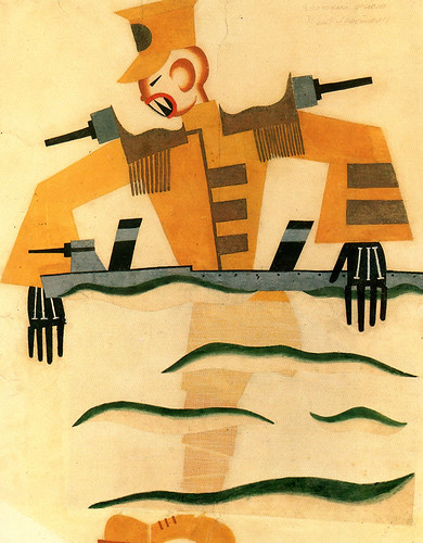 Tatiana-Bruni,-The-Japanese-Marine,-Costume-Design-for-'The-Bolt',-1931,-Courtesy-GRAD-and-St-Petersburg-Museum-of-Theatre-and-Music