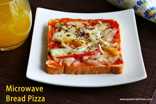 Microwave-bread-pizza