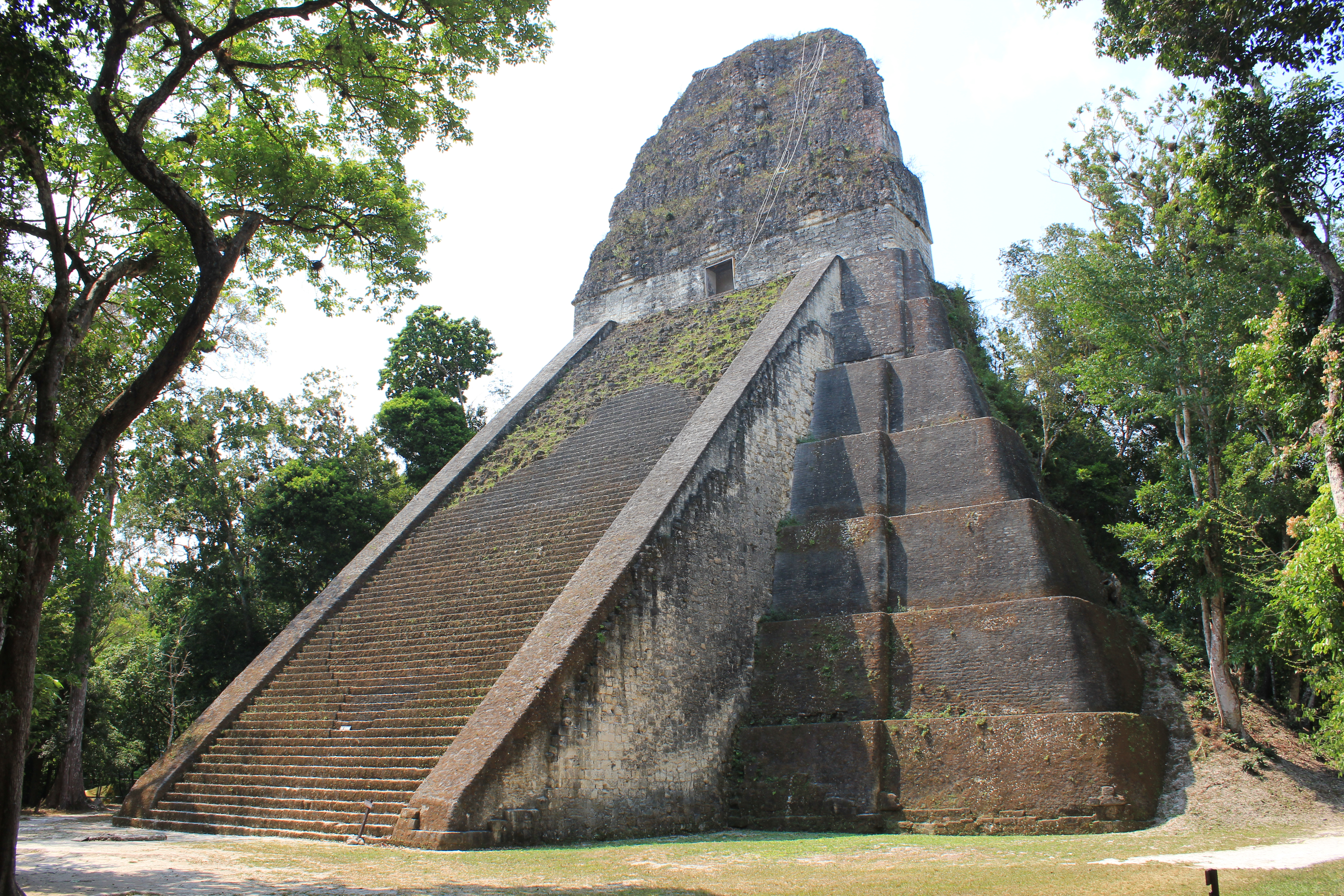 Tikal, is one of the largest archaeological sites of the pre-Columbian Maya civilization