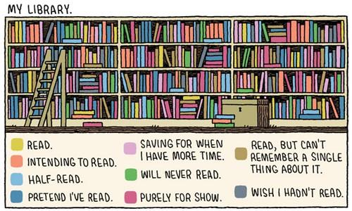 """My Library"" (Tom Gauld)"