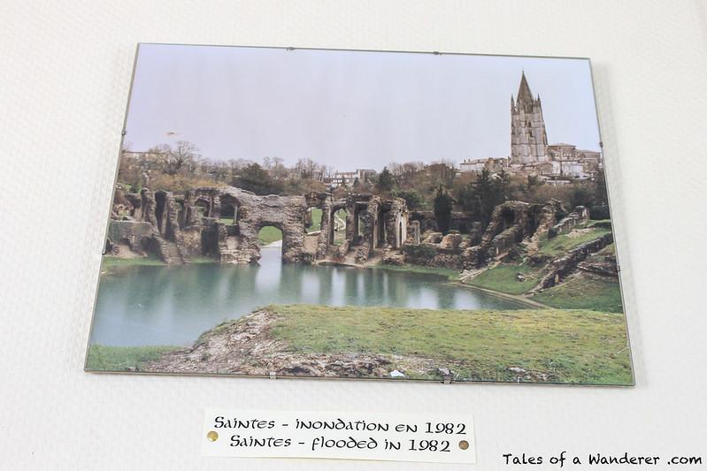 SAINTES - Amphithéâtre gallo-romain