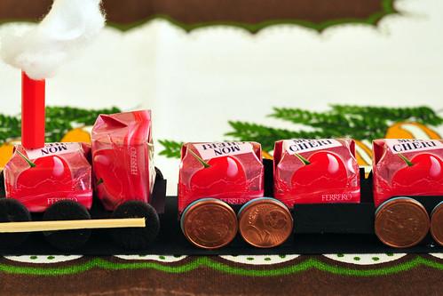 Mon Cheri Eisenbahn Modellbau süß Lokomotive
