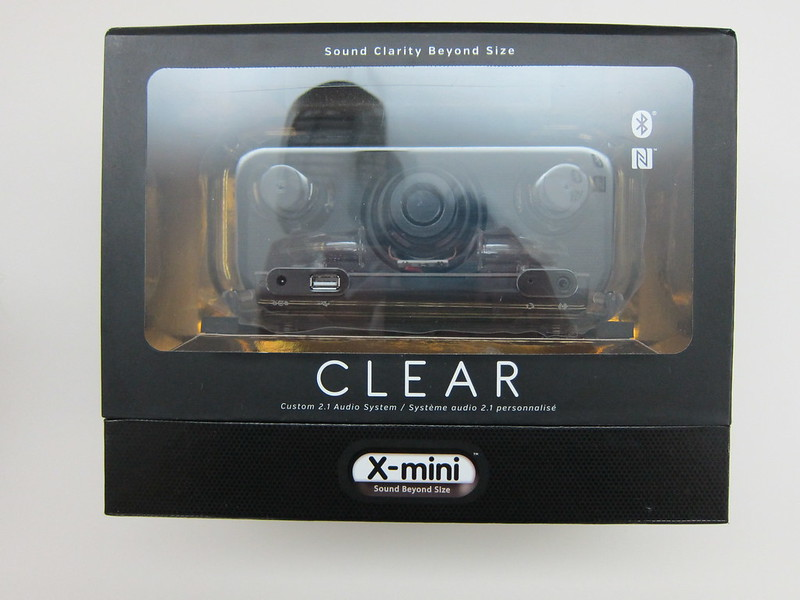 X-mini CLEAR - Box Back