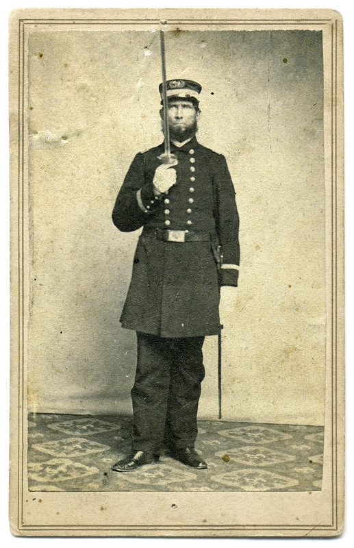 A Navy Officer Who Captured Confederate Infantrymen