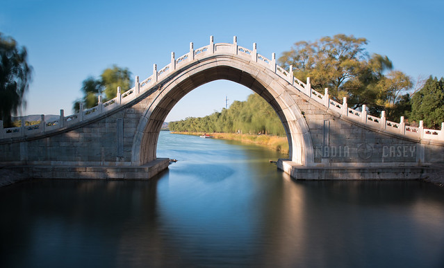 Tall Palace Bridge  -  Beijing, China