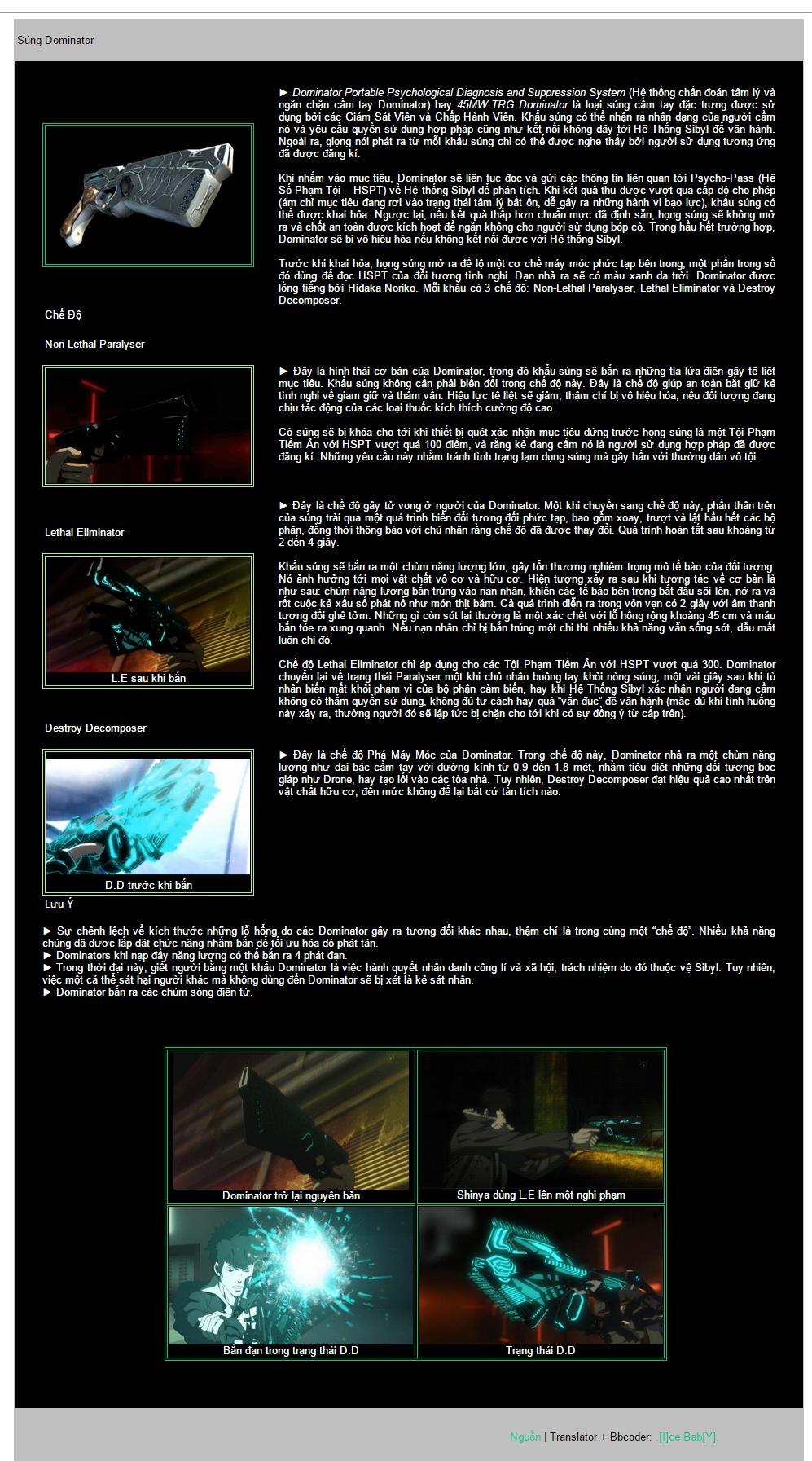 [Psycho Pass] Súng Dominator  15537448480_6e91797c43_o