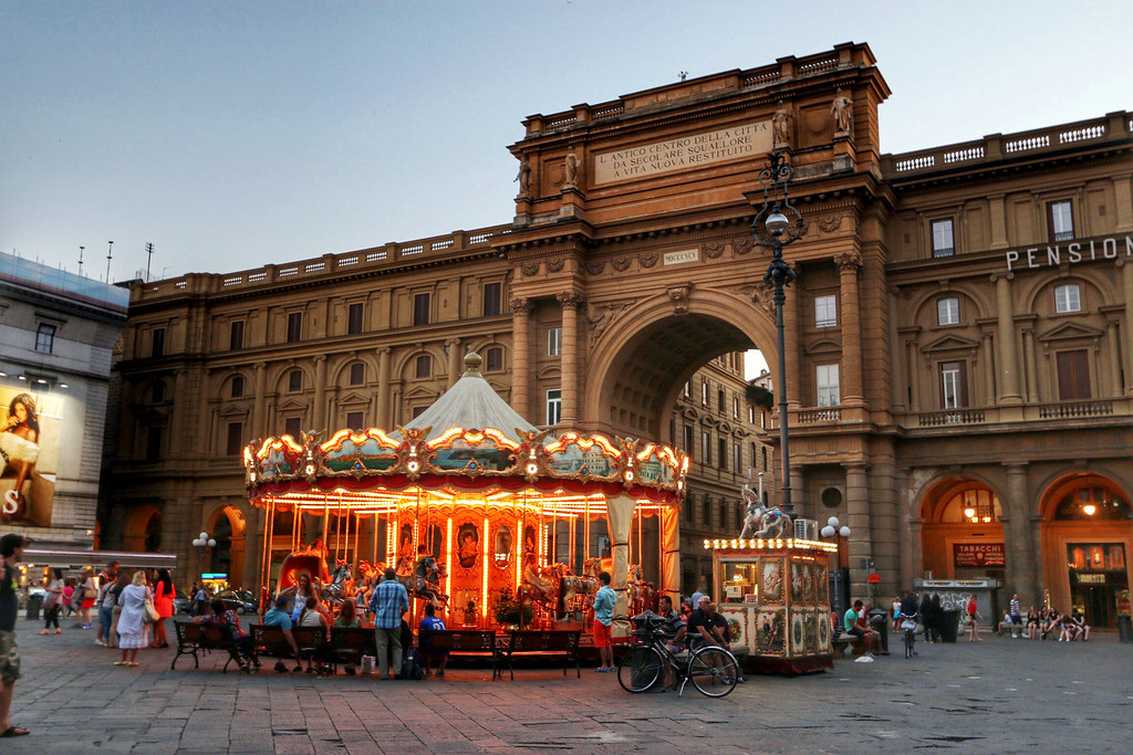 Florence, Italy - July 2014