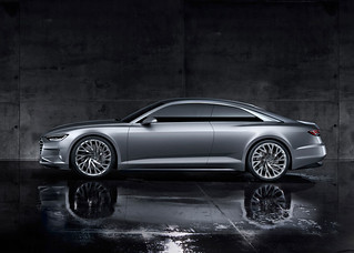 Audi 2014 Concept Prologue at LA Auto show