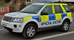 Greater Manchester Police Land Rover Freelander TD4S