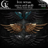 Iron wings onyx and gold We <3 roleplay November