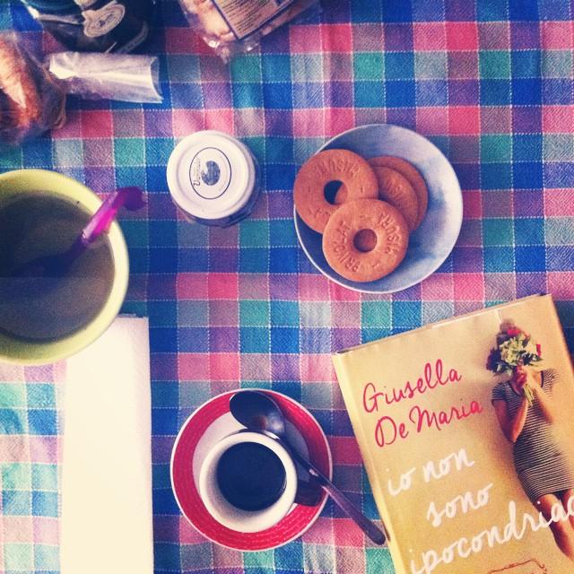 #breakfast con l'autrice #giusellademaria #roma #iononsonoipocondriaca #cup #coffee